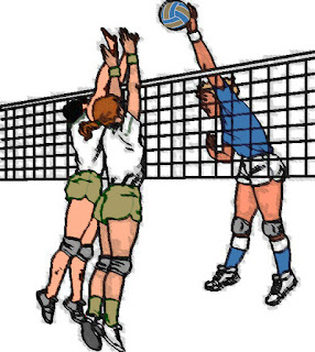 Teknik dasar blocking bola voli