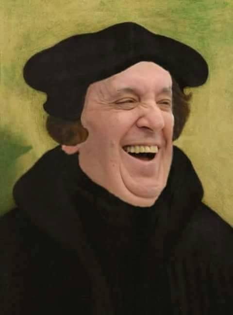 Just a Reminder about what Francis said about Martin Luther     Just a Reminder about what Francis said about Martin Luther  Lutheranism   and the Doctrine of Justification Just Last Year When the  Celebration  of  the