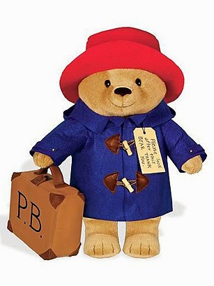 Paddington, peluche, ours, anglais, paddington and friends, happy journal