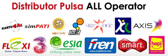 Dealer Pulsa All Operator Murah di Jepara Jawa TengahDealer Pulsa All Operator Murah di Jepara Jawa Tengah