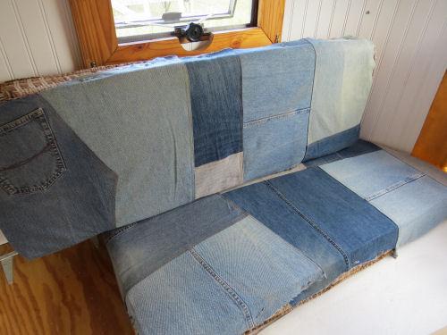 trailer bench cushions