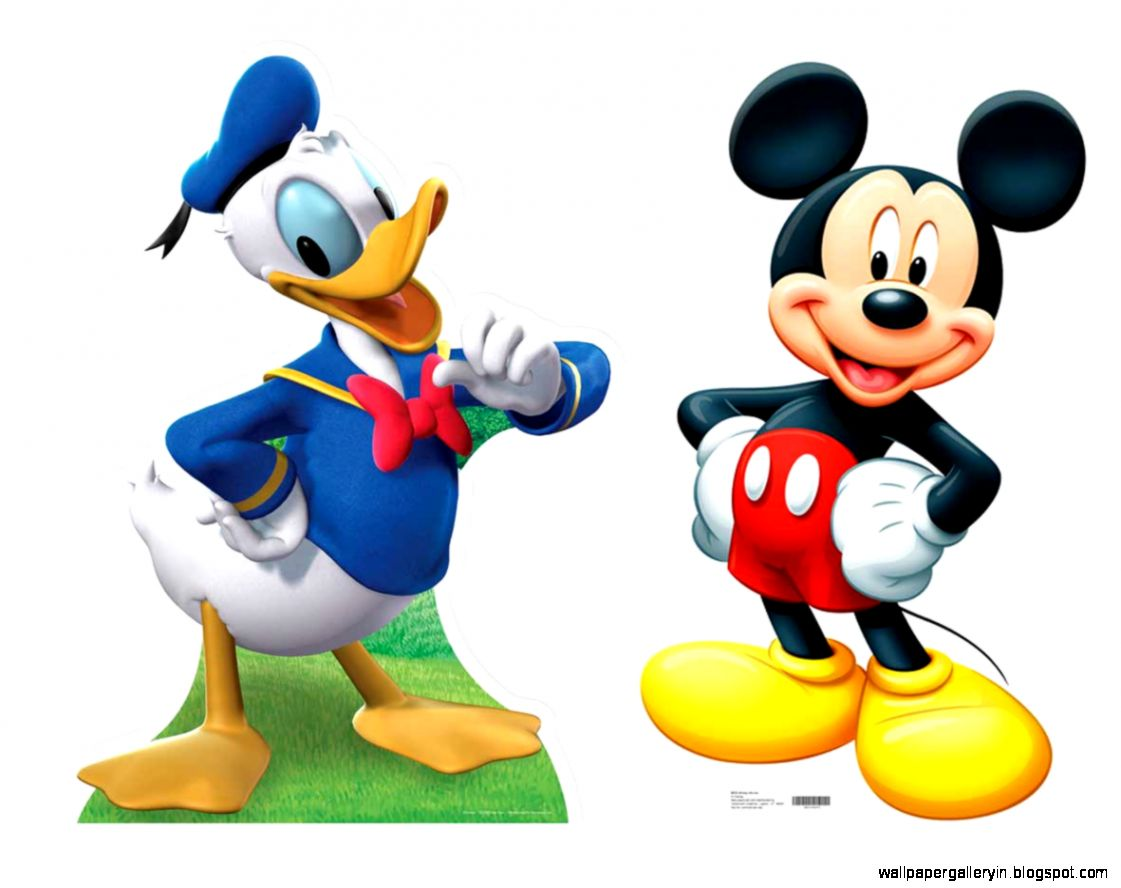Mickey Mouse And Donald Hd | Wallpaper Gallery