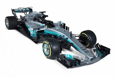 Mercedes-AMG W08 EQ Power+ 2017 Front Side