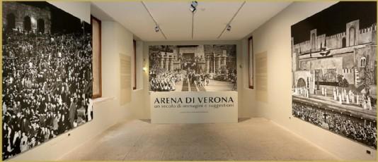 l'arena di verona in mostra a palazzo forti a verona