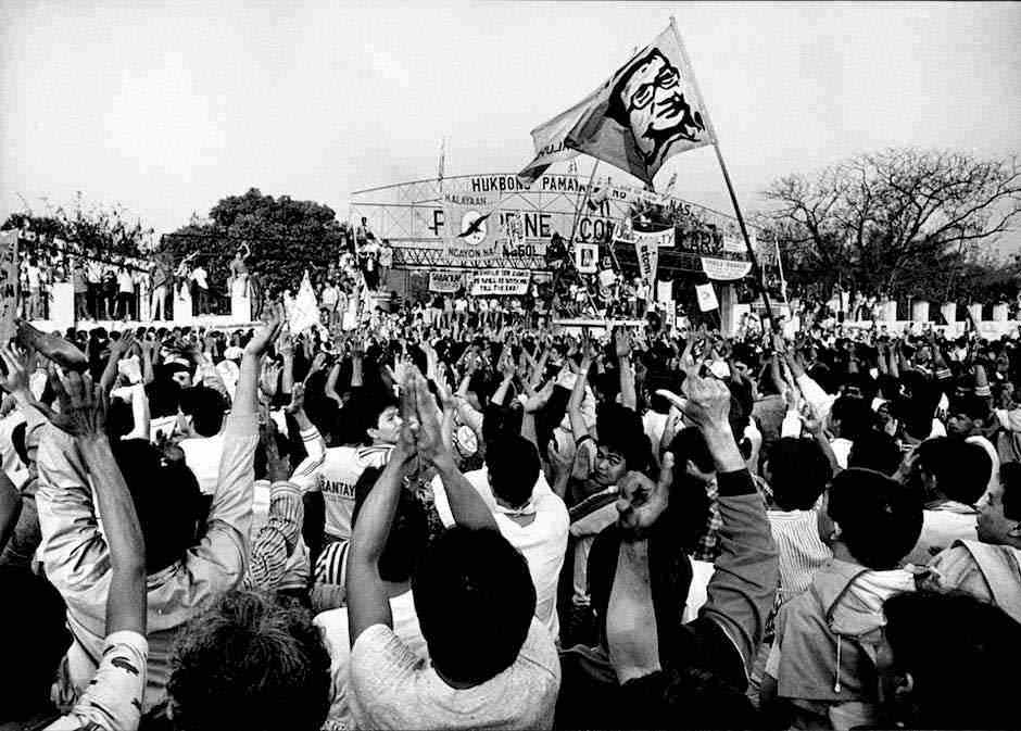 the history of the filipino peoples power revolution Jaime cardinal sin, a prominent figure during the widely popular1986 edsa people power, once again, calls on filipinos to proceed to edsa and stay there until, using his own words, good has conquered evil.