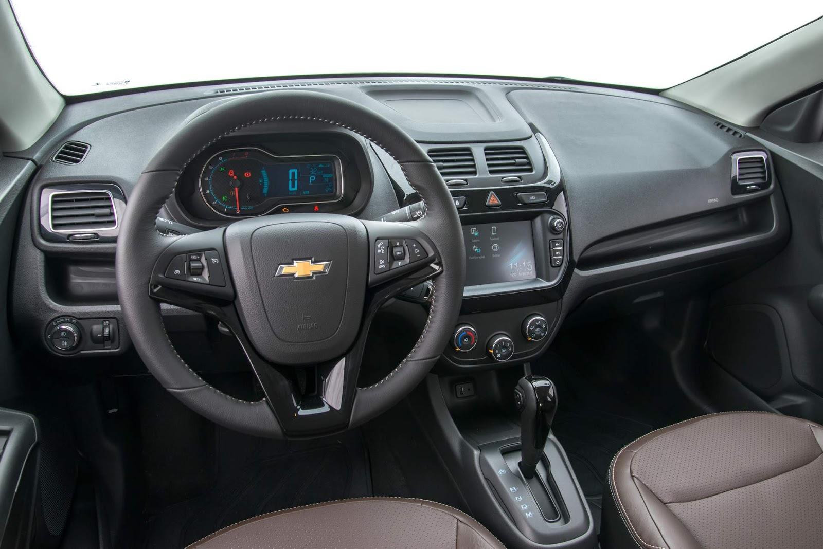Chevrolet Cobalt 2018: fotos, consumo, detalhes e versões ...