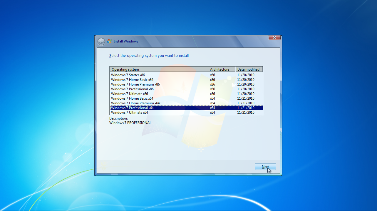 Windows 7 All Versions Iso