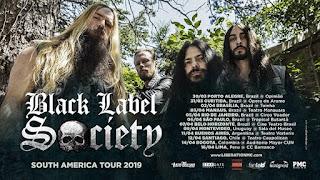 Concierto de Black Label Society en Bogotá 2019
