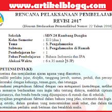 RPP k13 kelas 2 Tema 5 revisi 2017 Semester 2 Terbaru (Pengalamanku)