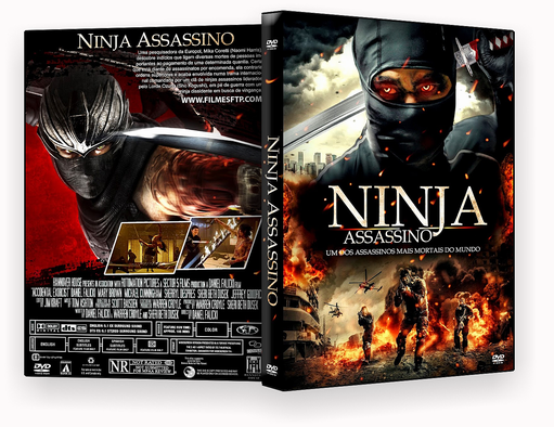 CAPA DVD – Ninja Assassino Dublado – ISO