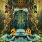 8BGames Halloween Scared Cat Escape