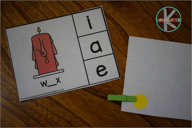 self chickeng vowel activity