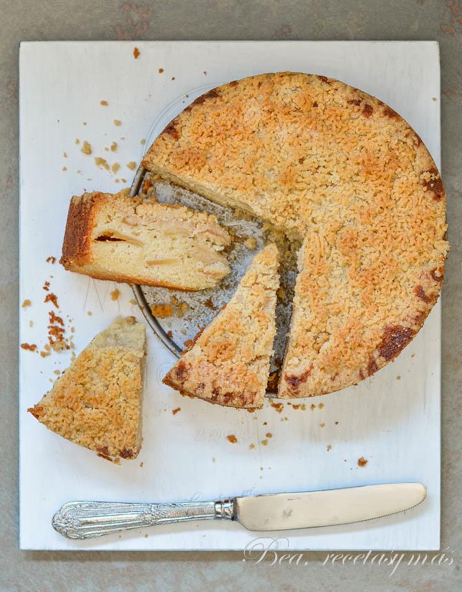 Streuselkuchen de manzana