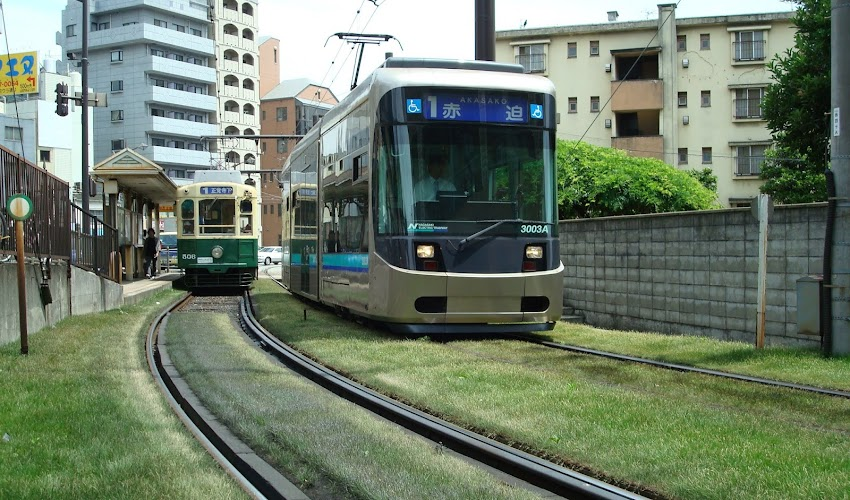 Nagasaki Tour with Street Car - Green Line