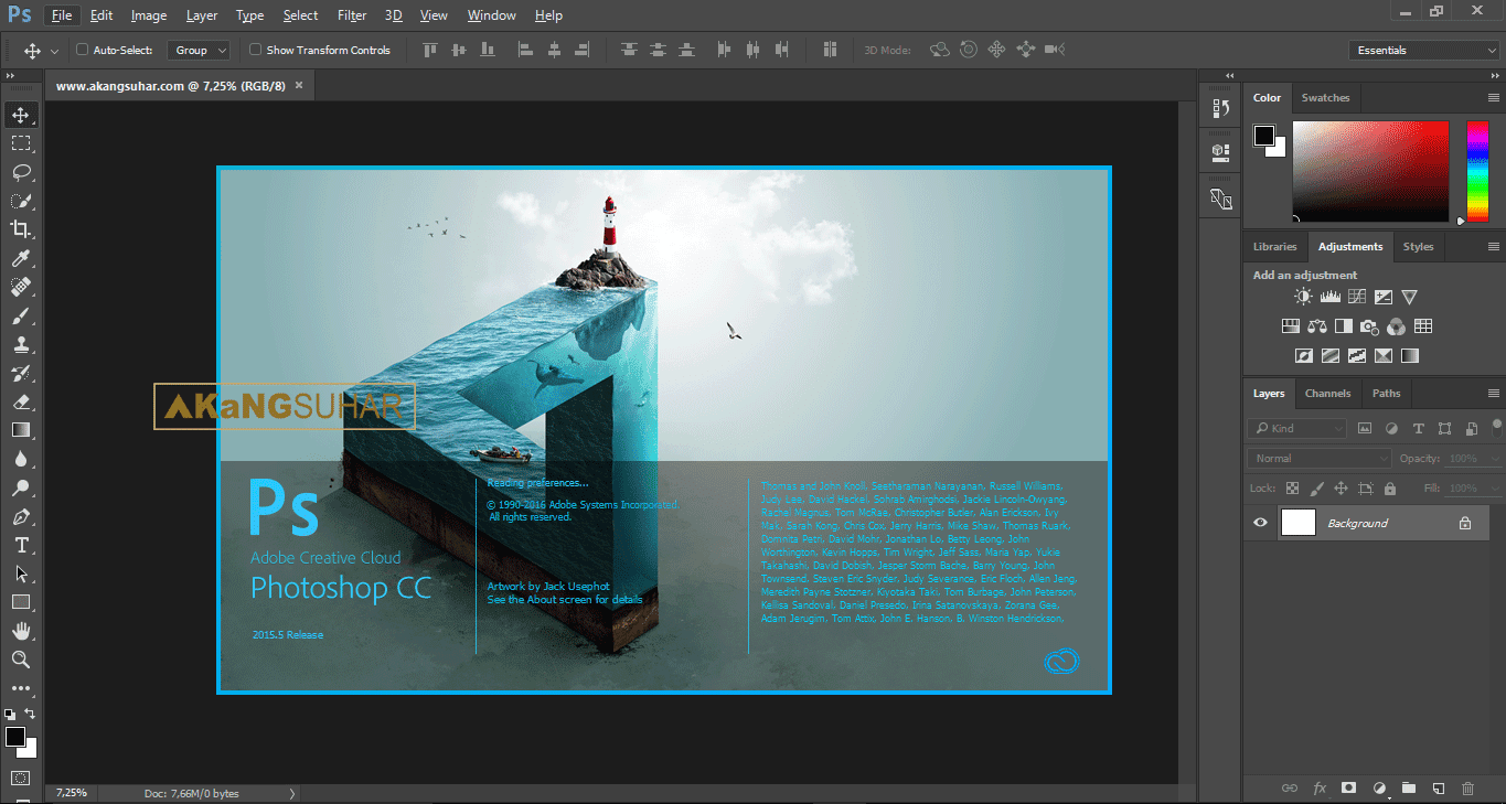 Free Download Adobe Photoshop CC 2015 Full Crack