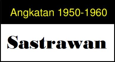 Sastrawan Angkatan 1950 - 1960