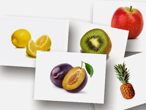 Bildkarten Obst - DaZ Material für die Sprachförderung in der Grundschule