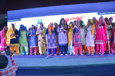 People Honored On International Day Celebration Uttar Pradesh