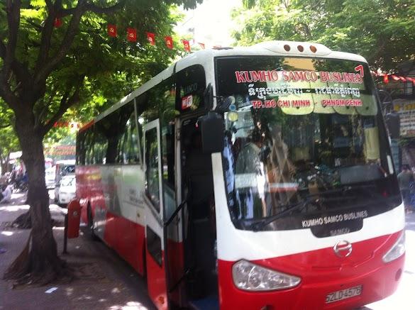 Rekomendasi Bus Perjalanan Darat Rute Saigon Ho Chi Minh City Vietnam Ke Kamboja Phnom Penh Siem Reap Pulang Pergi