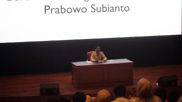 Prabowo: RI Terancam Krisis Air, Krisis Minyak, dan Air Laut Masuk HI di 2025