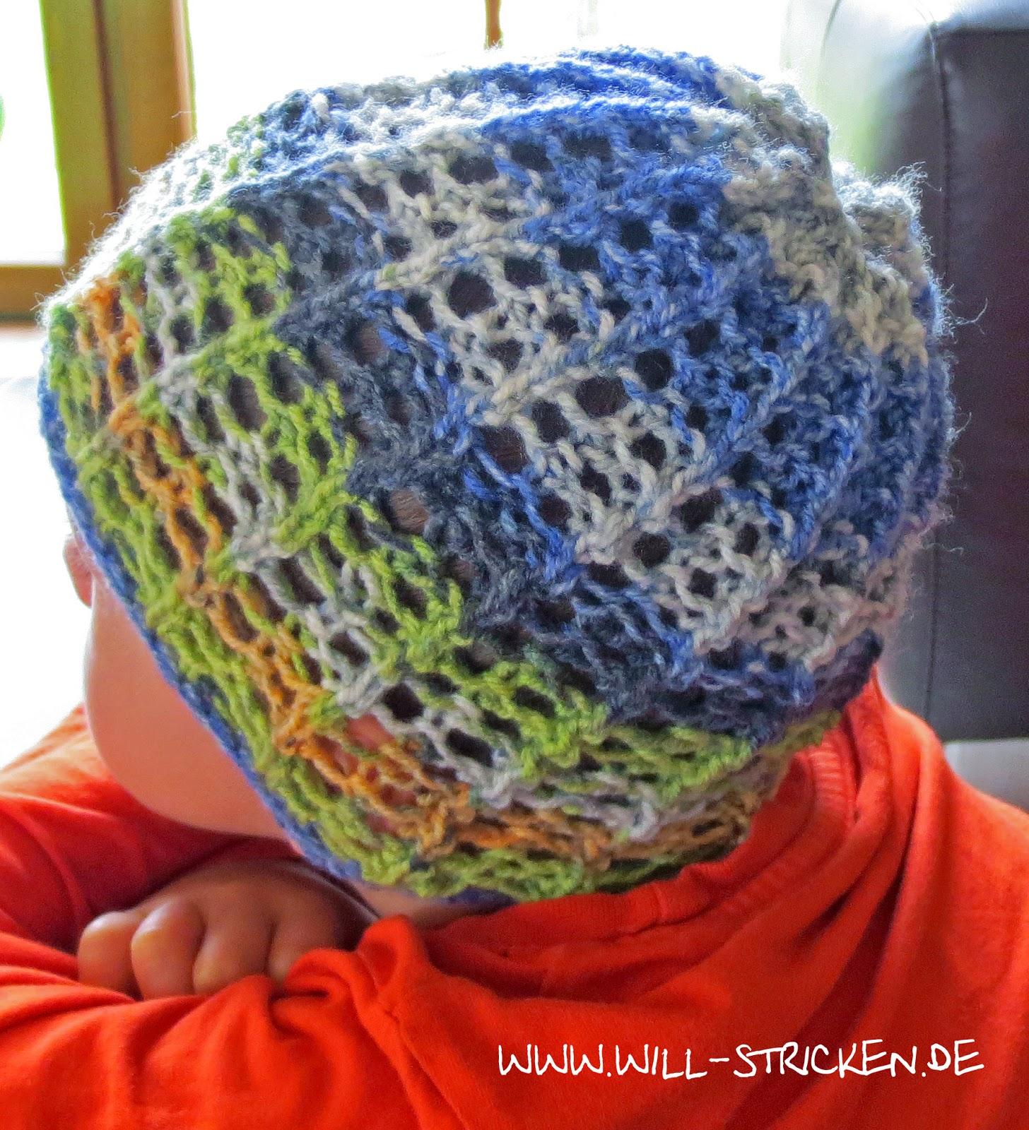 Kindermütze stricken für Frühling und Sommer