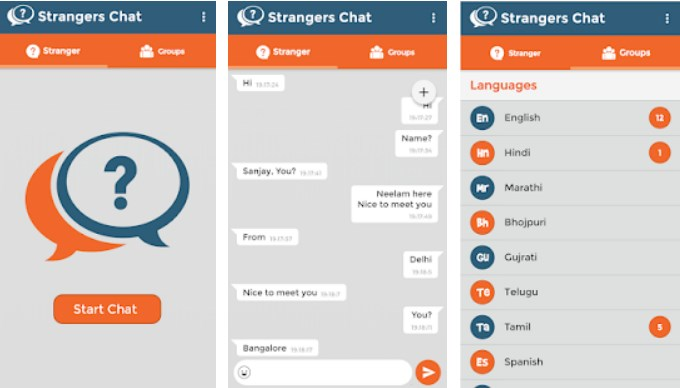 Strangers Chat – Connect with Strangers to Chat Online | Tehnico
