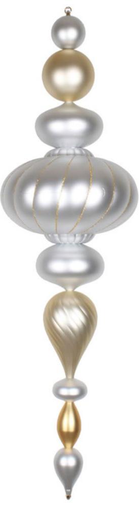 Vickerman 45 in. Matte Jumbo Finial Ornament