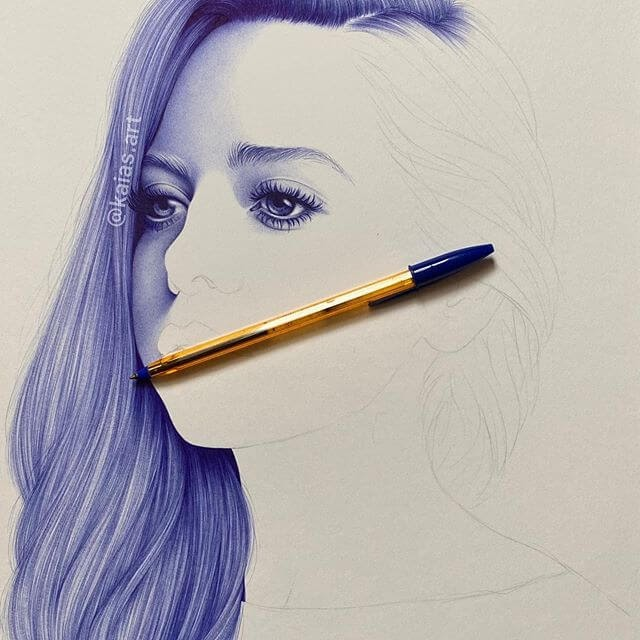 10-Kaia-Ballpoint-Pen-Color-Portraits-www-designstack-co