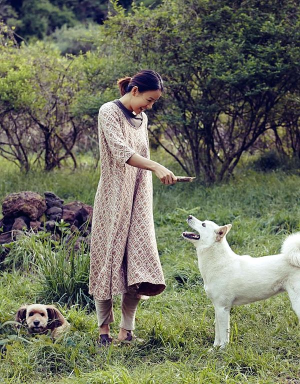 Lee Hyo Ri Lee Sang Soon Dogs VOGUE KOREA enjoy korea hui