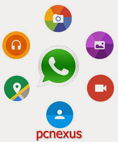 whatsapp material design icons