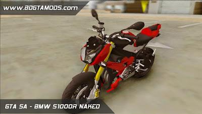 BMW S1000R NAKED para GTA San Andreas