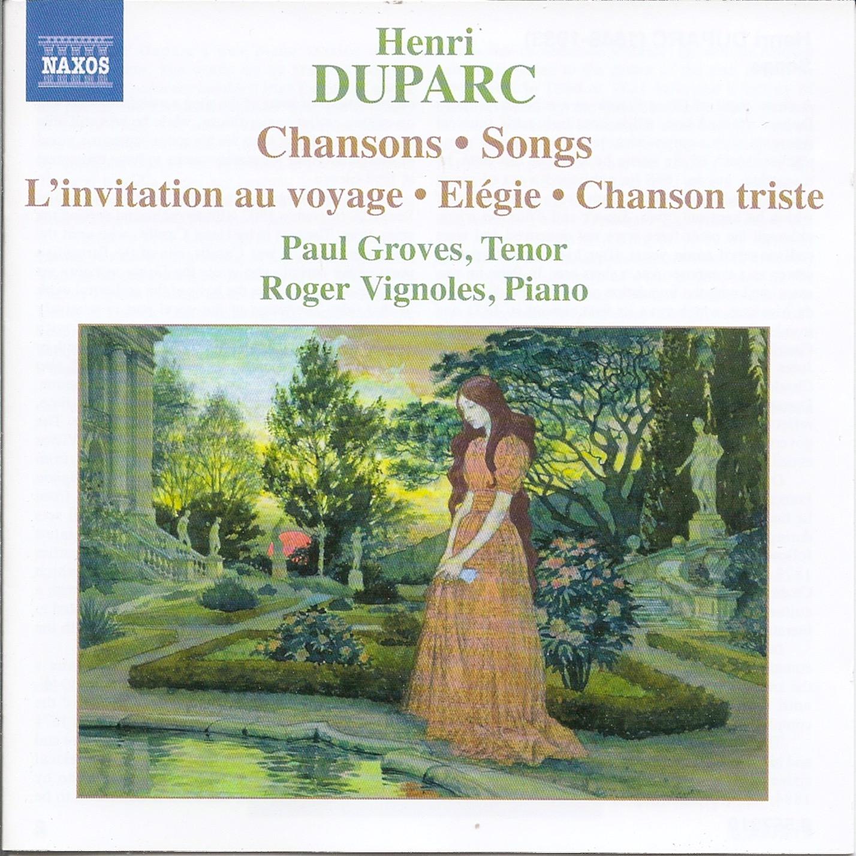 Kammermusikkammer Henri Duparc 1848 1933 Lieder