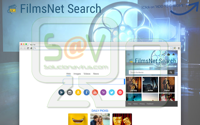 filmsNet Search (Adware)