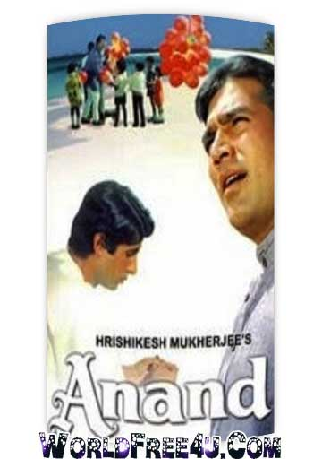 Poster Of Bollywood Movie Anand (1971) 300MB Compressed Small Size Pc Movie Free Download worldfree4u.com