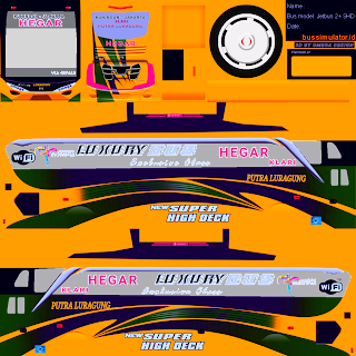 Livery PNG Jernih Bus Simulator Indonesia Part 6