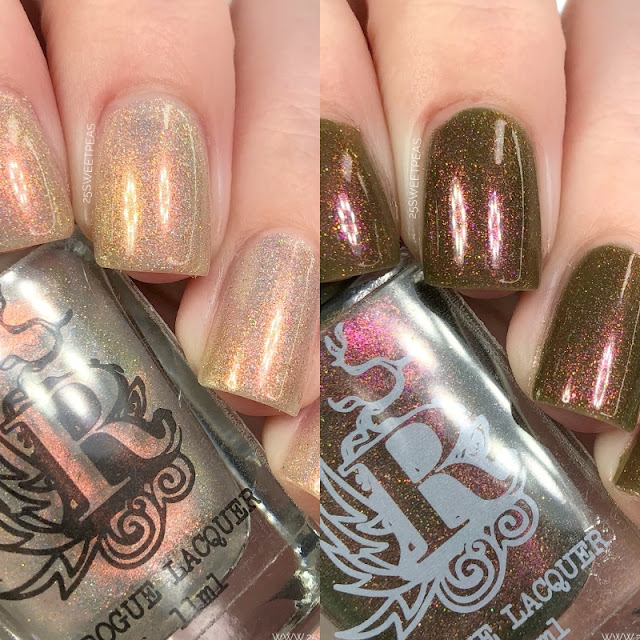 Rogue Lacquer Not Your Average Holiday Duo