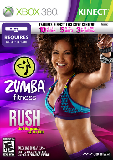 Majesco Entertainment Launches Zumba Fitness Rush For Xbox 360 Kinect My Life On And Off The Guest List