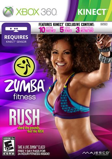 Majesco Entertainment Launches Zumba Fitness Rush for Xbox 360