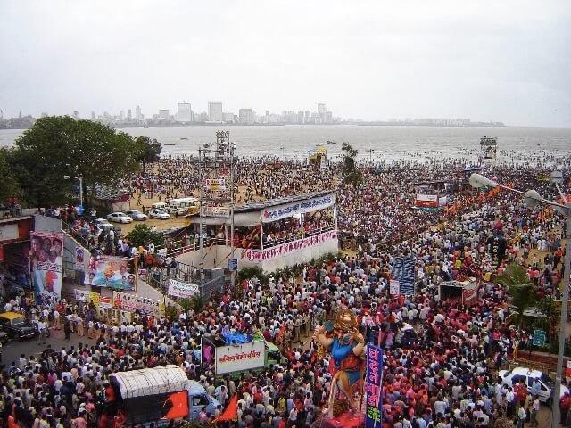Ganapati Festival in Mumbai, 2005