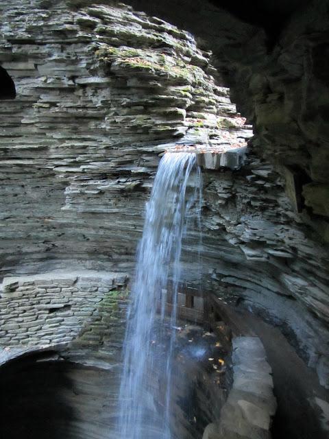 Cavern Cascade, Watkins Glen, NY