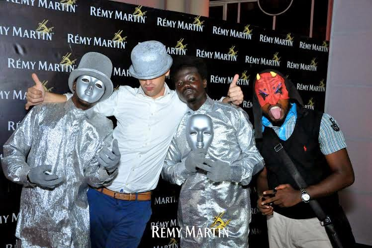 u Pics from all the scary fun at The Club With Remy Halloween edition