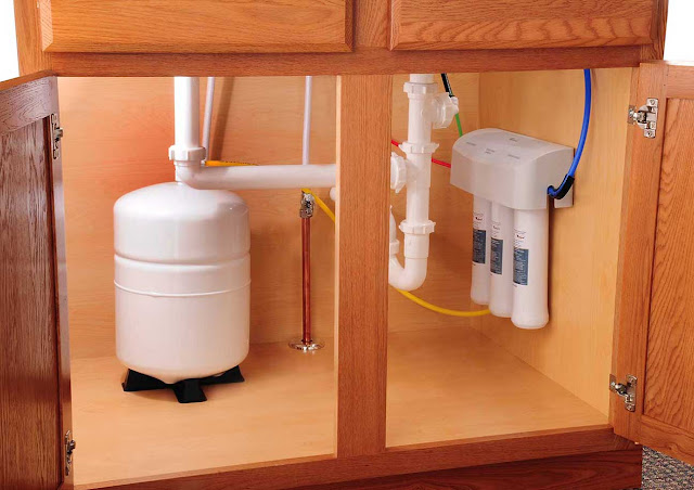 how does a reverse osmosis unit work