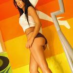 Andrea Rincon, Selena Spice Galeria 32 : Blusa Blanca y Cachetero Negro Foto 98