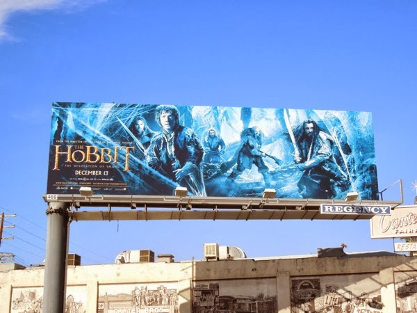 Hobbit 2 Desolation of Smaug cobwebs billboard