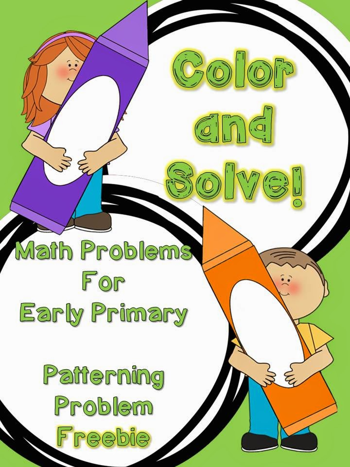 http://www.teacherspayteachers.com/Product/Color-and-Solve-Math-Problems-for-Early-Primary-FREEBIE-1466232
