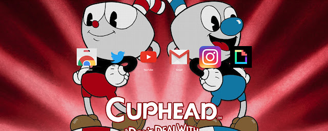 Cuphead Video Game Theme Buy Theme FOR Chrome