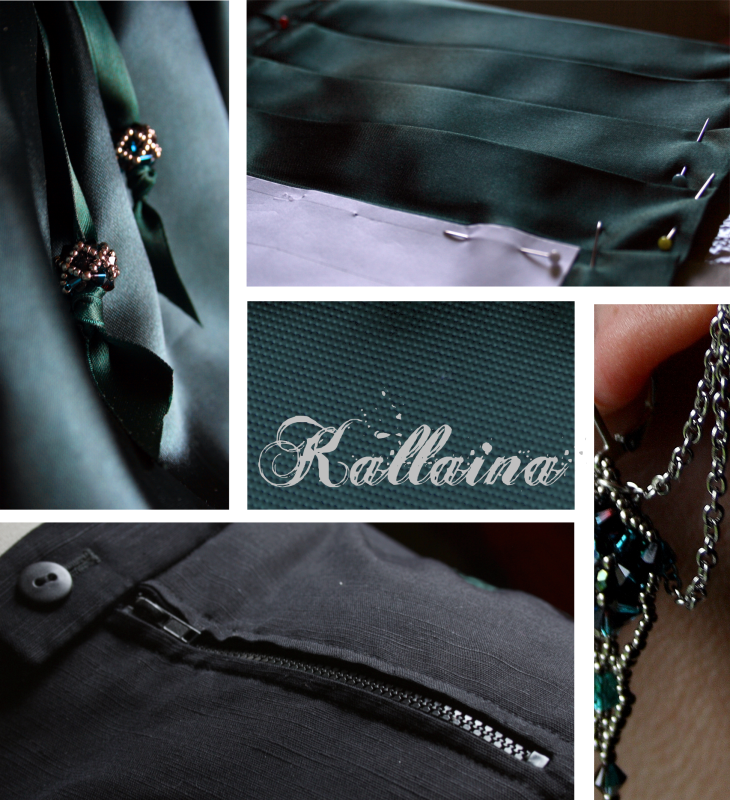 Steampunk Outfit Kallaina - Work in Progress Teil 3