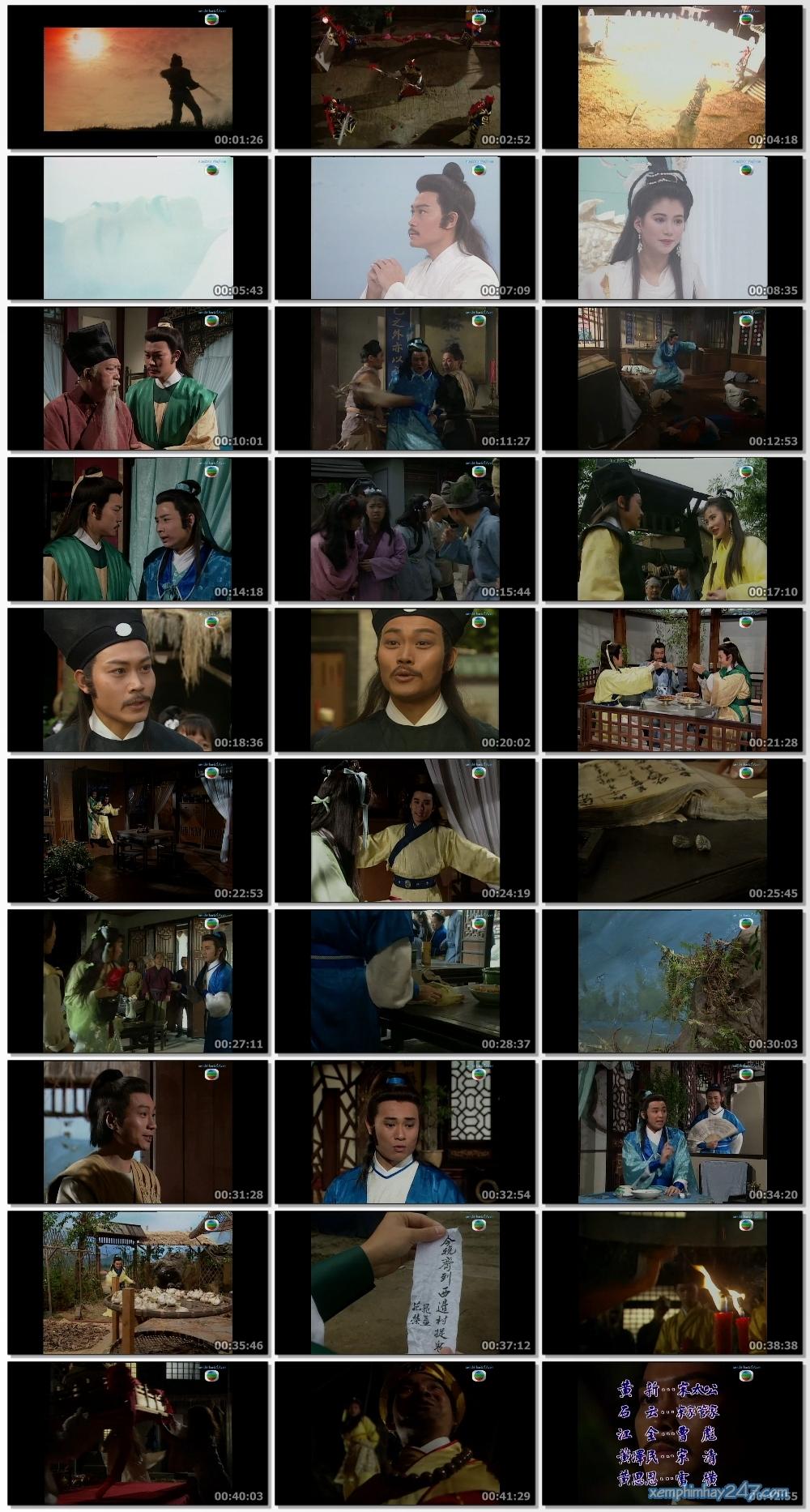 http://xemphimhay247.com - Xem phim hay 247 - Anh Hùng Thủy Hử - Anh Hùng Truyền Thuyết (1992) - Story Of The Water Margin (1992)
