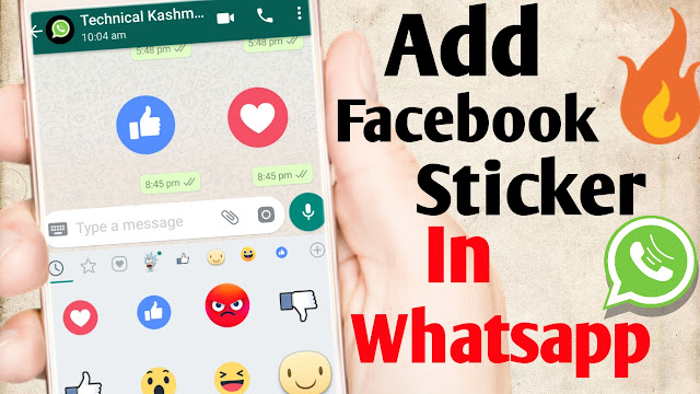 How to Use Facebook Stickers in WhatsApp