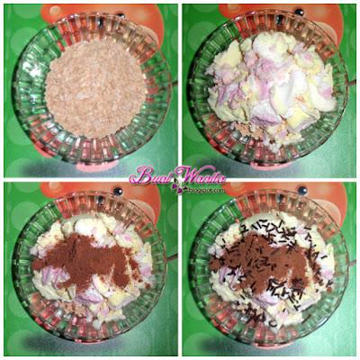 Buat Dessert Ice Cream Mudah. Ais Krim Nestum Milo. Cara Buat Dessert  Ice Cream Simple Senang Sedap. Ais Krim Dengan Nestum Milo Dan Coklat